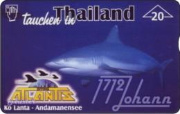 """TWK Österreich Privat: """"Atlantis Diving - Hai"""" Gebr. - Oesterreich"""