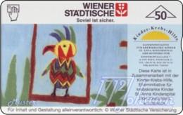 """TWK Österreich Privat: """"Kinderkrebshilfe 2 - Wr. Städtische"""" Gebr. - Oesterreich"""