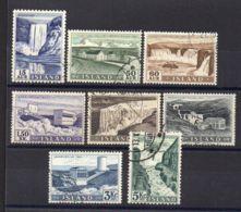 ISLANDE ( POSTE ) : Y&T N°  261/268  TIMBRES  TRES  BIEN  OBLITERES . - 1944-... Republique