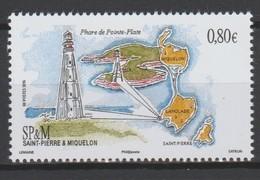 """Saint Pierre Et Miquelon 2016 :  N°   1171 """" Le Phare De La Pointe Plate """"  -  Neuf **  - - St.Pierre & Miquelon"""