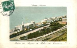N°67804 -cpa Sainte Adresse Le Nice Havrais -le Palais Des Régates- - Sainte Adresse