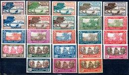 Nouvelle-Calédonie  Neukaledonien Y&T139* - 144*, 145**, 146* - 158*, 159**, 160**, 161* - New Caledonia