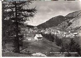 CP Italie - CLAVIERE, Panorama, M. 1800 - Italia