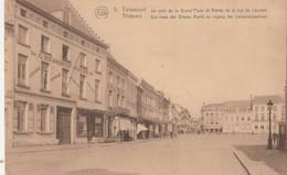 Tirlemont ,Tienen , Thienen ,en Hoek Der Groot Mark En Ingang Der Leuvenchestraat - Tienen