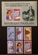 Togo 1979 Mi.1340-45,bl.140 Anniversary MNH [21;4] - Familles Royales