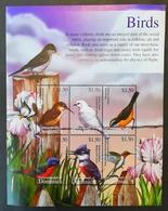 Dominica 2002** Klb. 3327-32. Birds MNH [3;35] - Oiseaux