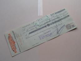 """Ets. """" La Spécialité """" ( Pastilles Lotus-Seva-Tolus ) ROCHEFORT S/ Mer ( Reçu / Mandat ) Anno 1933 ( Zie/voir Photo) ! - Bills Of Exchange"""