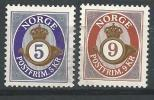Norvège,  2001  N°1362/1363  Neufs**, Cor De Poste - Norvège