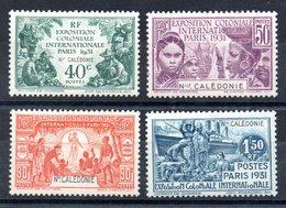 Nouvelle-Calédonie  Neukaledonien Y&T 162* - 165* - Neukaledonien