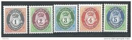 Norvège 1992 N°1064/1068 Neufs** Cor De Poste - Norvège