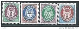 Norvège 1991 N°1035/1038 Neufs** Cor De Poste - Norvège