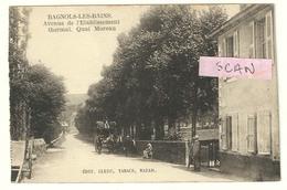Bagnols-les-Bains : Avenue De L'établissement Thermal, Quai Moreau - Autres Communes