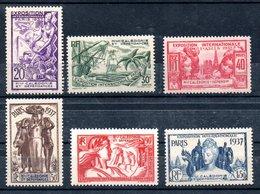 Nouvelle-Calédonie  Neukaledonien Y&T 166* - 171* - Neukaledonien