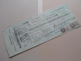 Henri GUYONNET-DUPERAT ( Drogueries ) RUFFEC Charente ( Reçu / Mandat ) Anno 1935 ( Zie/voir Photo) ! - Lettres De Change