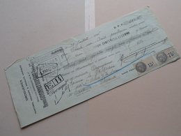 Henri GUYONNET-DUPERAT ( Drogueries ) RUFFEC Charente ( Reçu / Mandat ) Anno 1935 ( Zie/voir Photo) ! - Wechsel