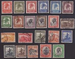 Ruanda 0126/47 (o) Palmiers Et Sujets Divers - - Ruanda-Urundi