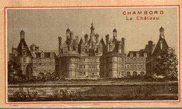 CHROMO  CHAMBORD  LE CHATEAU - Kaufmanns- Und Zigarettenbilder