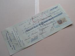 A. BOURDIER ( Mercerie / Bonneterie ) CONFOLENS Charente ( Reçu / Mandat ) Anno 1933 ( Zie/voir Photo) ! - Lettres De Change