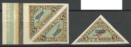Estonia Estland 1920/23 Michel 14 & Michel 41 (*) - Estonia
