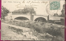 D84 - PERTUIS  - Pont Sur Le LEZ - Pertuis