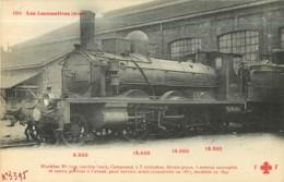 Cie NORD - Machine 3395 Pour Trains De Service Mixte - Les Locomotives  , Ed. Fleury - 2 Scans - Matériel