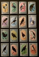 St.Lucia 1976** Mi.380-95 Birds MNH [21;9] - Oiseaux