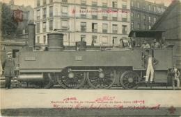 Cie OUEST ETAT - Machine 22 002 Pour Trains De Service De Gare - Les Locomotives  , Ed. Fleury - 2 Scans - Matériel