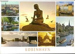 1091839 - Kopenhagen - The Little Mermaid, The Parliament, Christianshavn Can... - Denmark