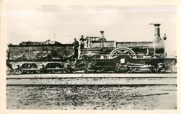 Chemin De Fer - Locomotive N° 16 Compagnie Du NORD Type Sturrock - 2 Scans - Matériel