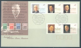 AUSTRALIA  - FDC - 11.8.1994 - WARTIME 1st MINISTERS - Yv 1379-1383  - Lot 18645 - Premiers Jours (FDC)