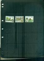 SINGAPORE 120 JARDINS BOTANIQUES 3 VAL NEUFS A PARTIR DE 0.60 EUROS - Singapour (1959-...)