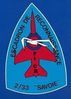A.C ESCADRON De RECONNAISSANCE F1 CR 2/33 SAVOIE - Autocollants