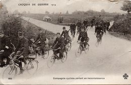 -Compagnie Cycliste Partant En Reconnaissance - - Guerre 1914-18
