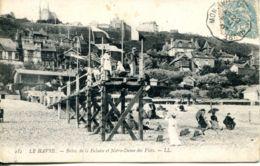 N°67810 -cpa Sainte Adresse -bains De La Falaise Et Notre Dame- - Sainte Adresse