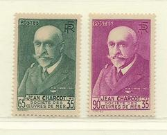 FRANCE  ( F31 - 390 )  1938  N° YVERT ET TELLIER  N° 377/377A  N** - France