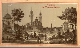 CHROMO  PARIS LE TROCADERO - Chromos