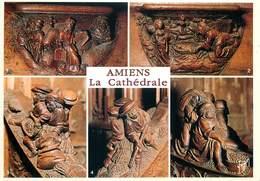 D1461 Amiens Cathedrale Les Stalles - Amiens