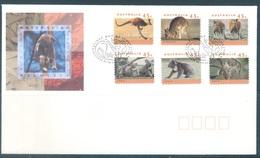 AUSTRALIA  - FDC - 12.5.1994 - KANGAROOS KOALA - Yv 1368-1373  - Lot 18647 - Premiers Jours (FDC)