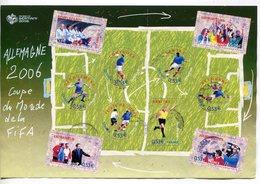 France - 2006 -bloc-yt 97 (o) -coupe Du Monde De Foot - Sheetlets