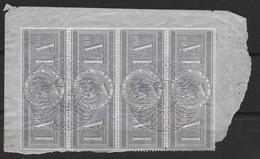 India Revenues (Liverpool Via Suez Canal) Revenue Stamps - India