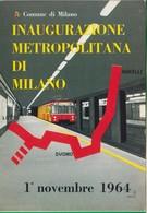 Milano. Metropolitana. Tram. Stazione - Stazioni Senza Treni