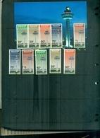 SINGAPORE INAUGURATION DE L'AEROPIORT DE CHANGI 5 VAL + BF NEUFS A PARTIR DE 1 EURO - Singapour (1959-...)