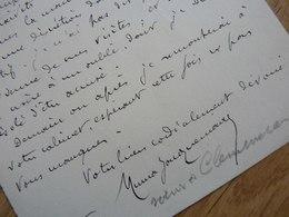 Numa JACQUEMAIRE CLEMENCEAU (1857-1902) Avocat. GENDRE De CLEMENCEAU. Autographe - Autographes