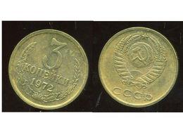 RUSSIE RUSSIA 3 Kopek 1972 - Russie