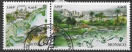 1999 Monaco      Mi.2454-5 Used  Europa: Natur- Und Nationalparks. - Europa-CEPT