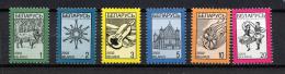 BIELORUSSIE BELARUS  2002, SERIE COURANTE / DEFINITIVE, 6 Valeurs, Neufs / Mint. R1751 - Belarus