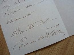 Camille COMMUN DU LOCLE - Autographes