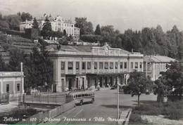 Stazione. Belluno. Villa Marassutti. Bus. Autobus - Gares - Sans Trains
