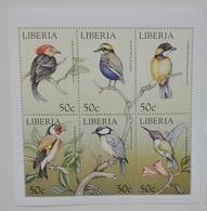 Liberia 1999** Klb. 2285-90. Birds MNH [3;58] - Oiseaux