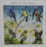 St. Vincent 1997** Klb. 3974-79. Birds Of The World MNH [3;59] - Oiseaux